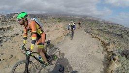 Ruta en bicicleta de Montaña por la costa de Tenerife, Candelaria , El Palmar